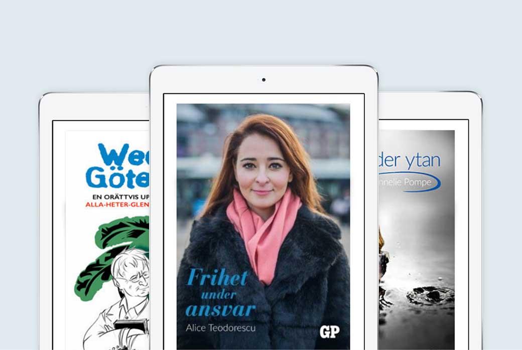 E-böcker med extra läsning bara för dig med GP.